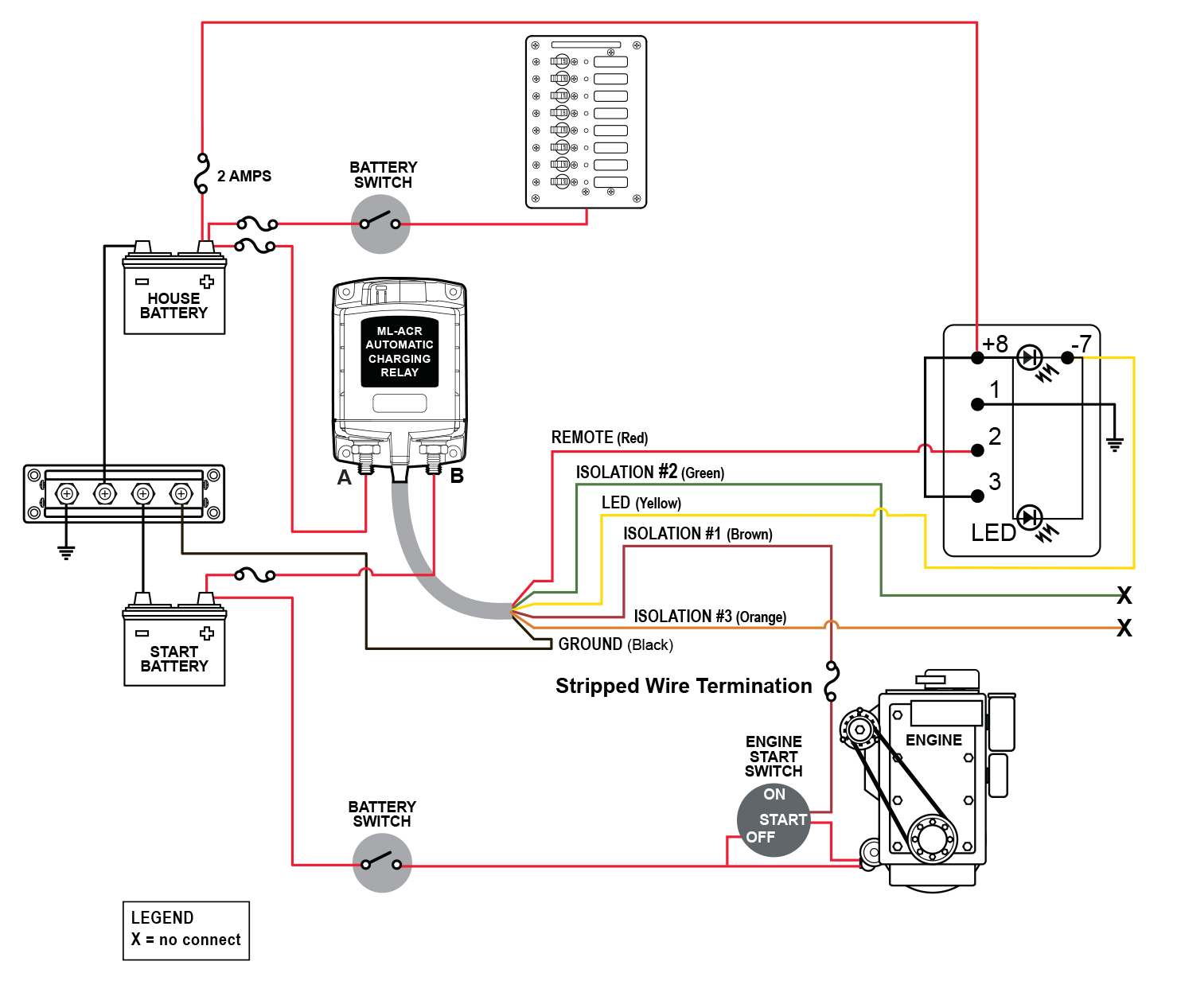 Wirediagram on Mercruiser Key Switch Wiring Diagram