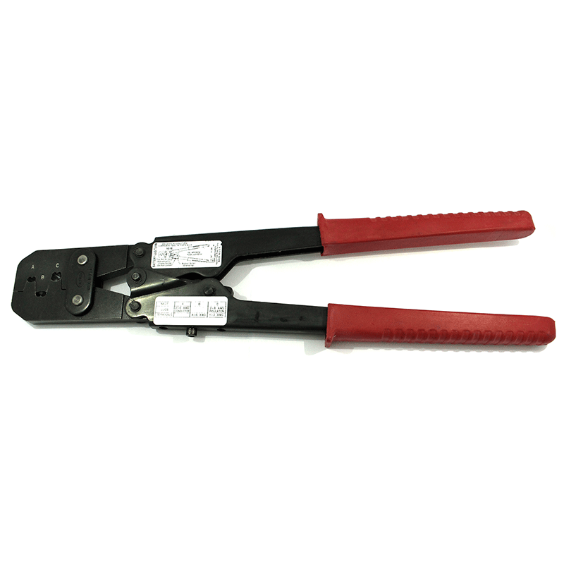 sargent battery open barrel crimper tool waytek. Black Bedroom Furniture Sets. Home Design Ideas