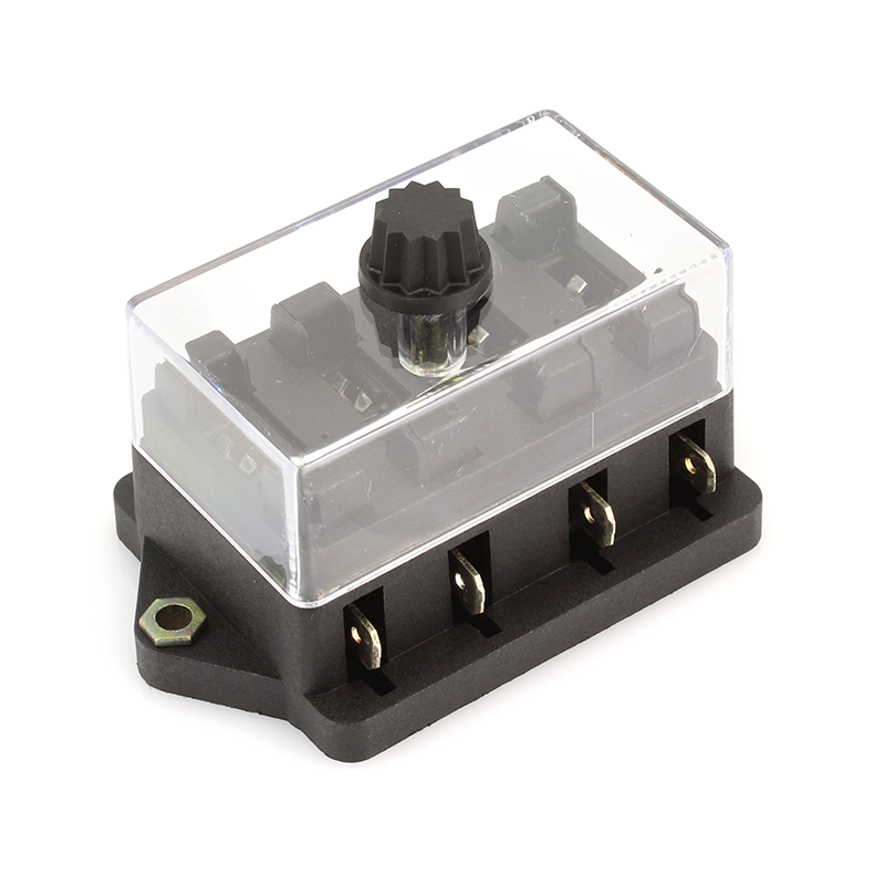 4 fuse block with cover