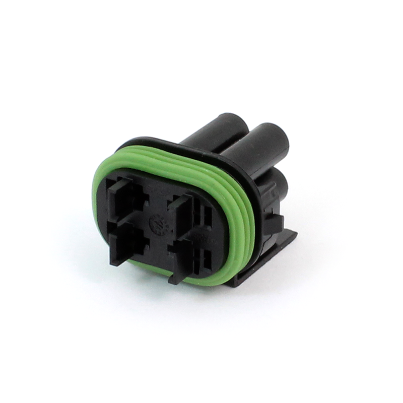 TE Connectivity 2066046-1 Sealed Mini Fuse Holder Assembly with Mounting  Clip, 2 Position, 20A, 12V