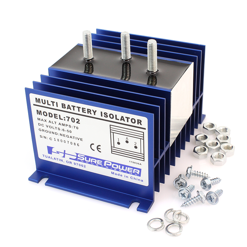 Sure Power Battery Isolator Wiring: Battery Isolators For Multiple Batteries