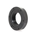 3/8 Black Nylon Locknut
