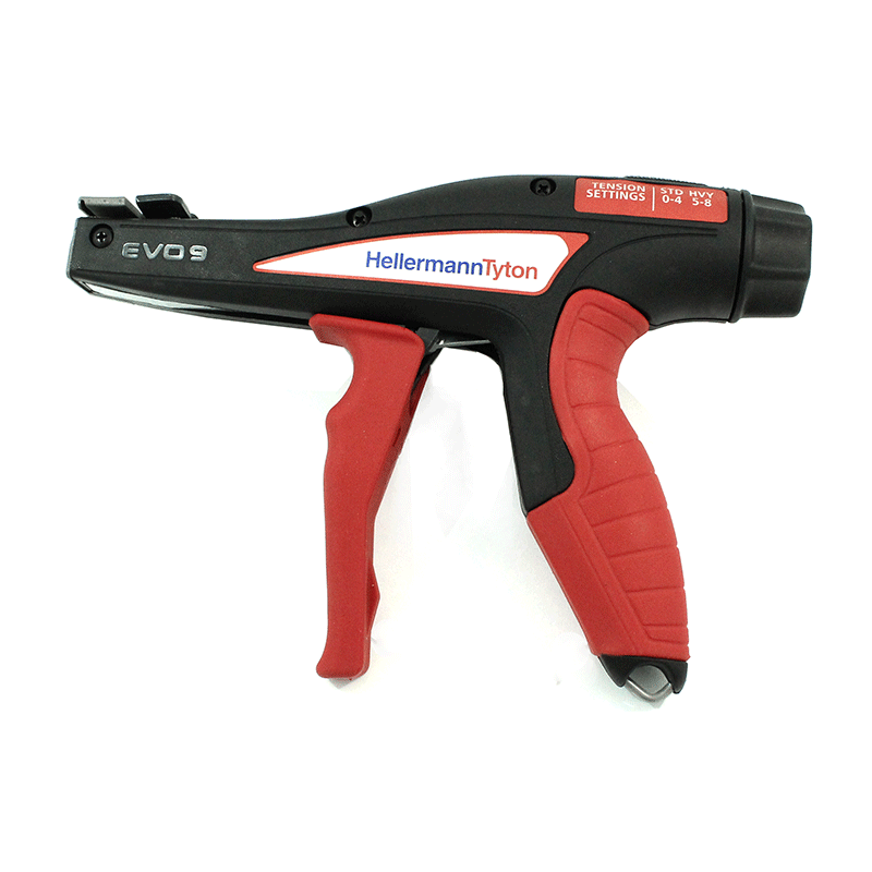 Zip Tie Gun >> Hellermanntyton 110 80000 Evo Mechanical Hand Tool Waytek