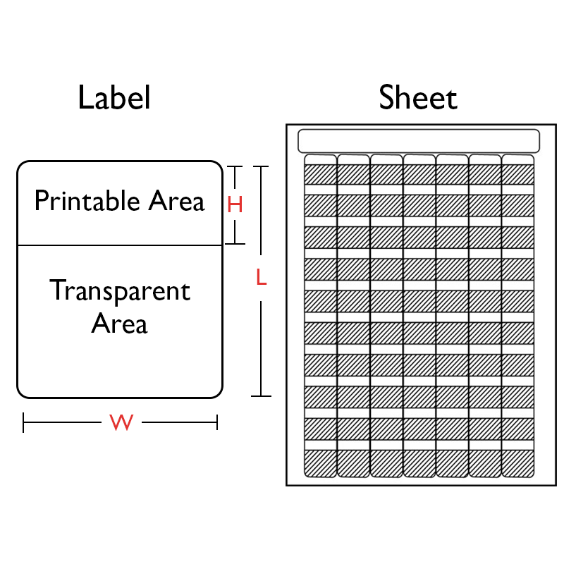 Self-Laminate Laser Label